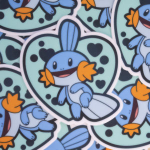 Cute Mudkip sticker!