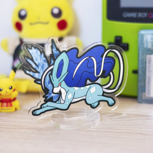 Shiny Suicune acrylic stand!